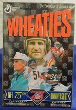 1993 Wheaties Cereal NFL 75th Anniversary  Box-Excellent Condition
