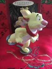Christmas Disney Hallmark Keepsake Winnie The Pooh Rabbit Ornament In Box