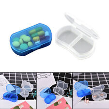 Plastic Pill Box Medicine Case For Healthy Care With Temporary Storage VL