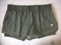 Avia Women's Green Running Shorts With Bike Liner Size Small Large OR XL