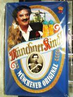 Blechschild Münchner Kindl Metall Schild 30 cm,Nostalgie Metal Shield