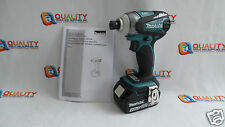 New Makita XDT01 18V Li-Ion Brushless Impact Driver 3-Speed & Battery 4.0 Ah.