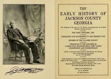 1914 JACKSON County Georgia GA, History and Genealogy Ancestry Family DVD CD B01