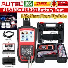 Autel AL539B OBDII Scanner Code Reader Auto Diagnostic Scan Tool Battery Tester