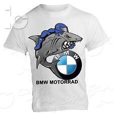 T-Shirt BMW Motorrad Squalo Shark Racing Gear Marce s 1000 RR gs 1200 F 800