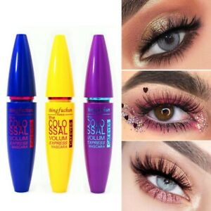 Waterproof Makeup Long Thick Non Staining Grind Texture Curling Eyelash Mascara