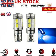Fits Honda Civic MK5 1.6 VTi White 12-SMD LED COB 12v Number Plate Light Bulbs