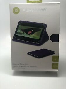 "PureGear UNIVERSAL Tablet Folio Case w/ Stand for 7-8"" iPad / Tablet- Purple"