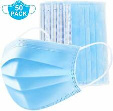 50 PCS Face Mask Mouth & Nose Protector Respirator Masks with Filter