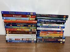 BLU-RAY DVD Lot Disney Pixar Looney Tunes Lego ETC. Kids Family Read Description