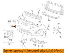 Chevrolet GM OEM 13-15 Spark Front Bumper-Tow Hook Eye Cap Cover 95142036