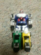 Power Rangers 1997 Roll & Stand 5? Turbo Megazord No Weapons