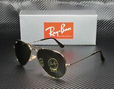 RAY BAN RB3025 181 Aviator Gold Dark Green 58 mm Men's Sunglasses