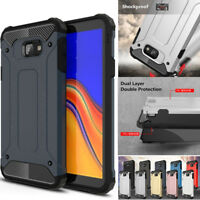 For Samsung Galaxy J6 J4 Plus A7 2018 Case Shockproof Rugged Rubber Armor Cover
