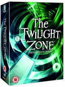 THE TWILIGHT ZONE Original Complete Series DVD Boxset 28 Disc Region 4 (AUS) New