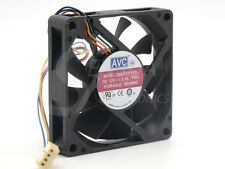 AVC 7cm DSSC0715R2L 12V 0.3A 4Wire PWM axial computer case Cooling Fan