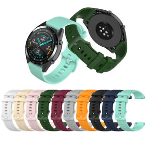 Replacement Silicone Universal Watch Strap For Huawei Watch GT2 Honor Magic