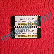Roland MT-32 OS v1.07 EPROM Firmware Upgrade SET / Final Update Chips MT32