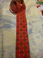 mercerie =loisirs créatifs 2m,25,x7cmgalon rouge ,doublé style provençal