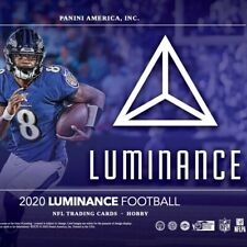 "2020 Panini Luminance Football Las Vegas Raiders (6)Box ""LIVE TEAM BREAK"""