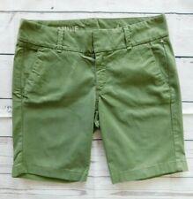 J.Crew Olive Green Andie Khaki Chino Bermuda Shorts - Size 4
