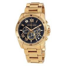 Michael Kors Brecken Black Dial Chronograph Mens Watch MK8481