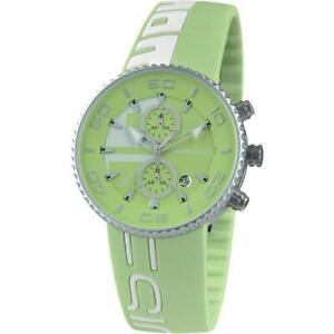Orologio Uomo MOMO DESIGN MD4187AL-161 JET ALUMINIUM Chrono Silicone Verde
