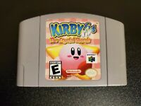 Kirby 64: The Crystal Shards (Nintendo 64) N64 Authentic Cart