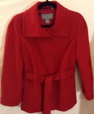Ann Taylor Wool And Cashmere Blend Pea Coat Jacket Winter S (see description)