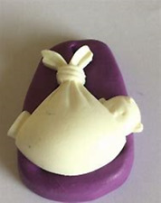 Baby in a Stork Blanket Shower Christening Silicone Mould Cake Icing Mould