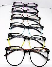 Fashion Candy Colors Big Large Round Rivets Frame Reading Glasses Reader+0.5~4.0