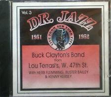 CD BUCK Banda de CLAYTON - Dr. Jazz Series vol. 3, Storyville new