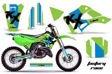 KAWASAKI KX 125/250 Graphic Kit AMR Racing Decal Sticker Part KX125/250 99-02 FR