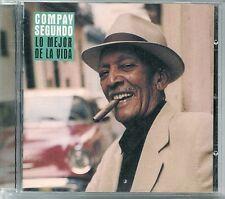 CD ALBUM 14 TITRES--COMPAY SEGUNDO--LO MEJOR DE LA VIDA--1998