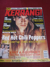 KERRANG! - RED HOT CHILI PEPPERS - 11 July 1998