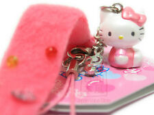 Hello Kitty Mobile Phone Strap with Music Symbol