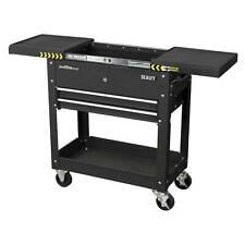 Sealey Steel Mobile Garage/Work Tool And Parts Wheel Trolley/Cart-Black- AP705MB