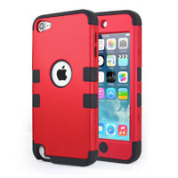 iPod Touch 5th Generation 5G Defender Case Hybrid Impact Hard Soft Rubber Case