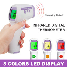 Infrared Thermometer Forehead Digital LCD Non Contact Adult Baby Temperature Gun