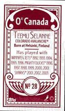2003-04 Topps C55 Minis O Canada Red #28 Teemu Selanne