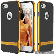 Slim Fit Shockproof Hybrid Stand Hard Bumper Soft Case For iPhone 6s & Plus & 5S