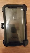 LG G2 Used 4 Piece Black Otterbox Defender Case W/ Holster
