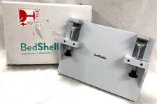 BedShelfie The Original Bedside Shelf Light Grey Made of Bamboo