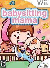 Babysitting Mama - Nintendo  Wii Game