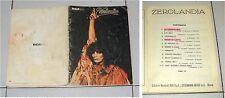 Spartiti RENATO ZERO Zerolandia - RCA 1978 Songbook sheet Triangolo