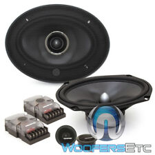 "MEMPHIS MCX69C 6""X9"" 120W CARBON FIBER COMPONENT SPEAKERS TWEETERS CROSSOVERS"