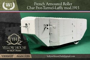WWI French Armoured Tank Frot-Turmel-Laffly 1/35 YHC Criel Crielmodel MENG Takom