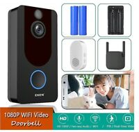 Smart Video Doorbell Security Camera Wireless 1080P WiFi Night Vision RIP Motion