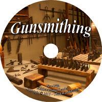Gunsmithing 13 Books 149 Videos Tutorials Gunsmith at Home Tools Firearms DVD A1