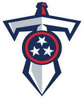 Tennessee Titans Decal ~ Car / Truck Vinyl Sticker - Wall Graphics, Cornholes
